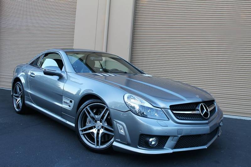 2009 Mercedes-Benz Sl-Class SL 63 AMG 2dr Convertible In Martinez CA ...