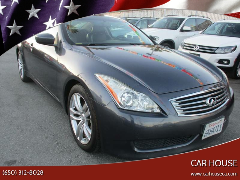 2009 Infiniti G37 Coupe Journey 2dr Coupe In San Mateo Ca Car House