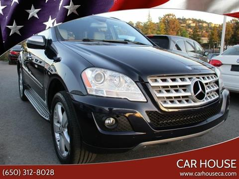 2009 Mercedes-Benz M-Class for sale at Car House in San Mateo CA