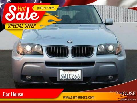 2006 BMW X3 for sale at Car House in San Mateo CA