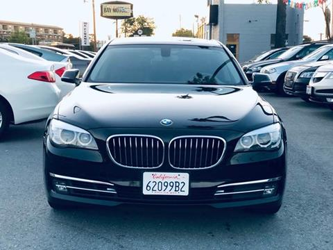2015 BMW 7 Series for sale at Car House in San Mateo CA