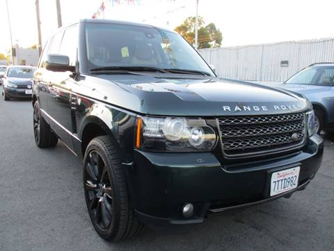 2012 Land Rover Range Rover for sale at Car House in San Mateo CA
