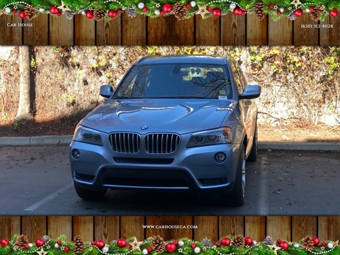 2012 BMW X3 for sale at Car House in San Mateo CA
