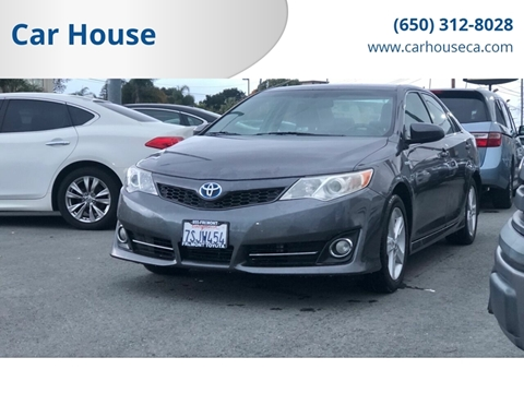 2014 Toyota Camry Hybrid for sale at Car House in San Mateo CA
