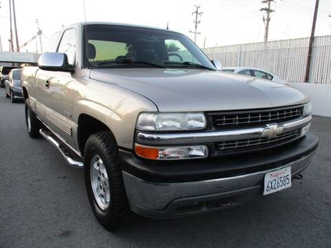 2002 Chevrolet Silverado 1500 for sale at Car House in San Mateo CA