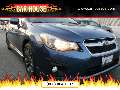 2012 Subaru Impreza for sale at Car House in San Mateo CA