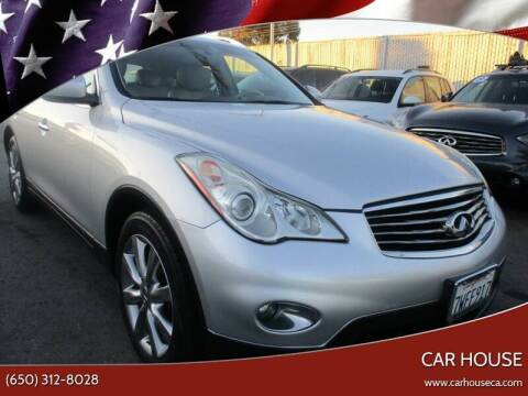 2008 Infiniti EX35 for sale at Car House in San Mateo CA