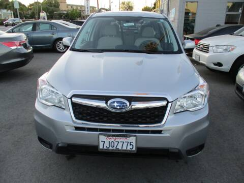 2015 Subaru Forester for sale at Car House in San Mateo CA