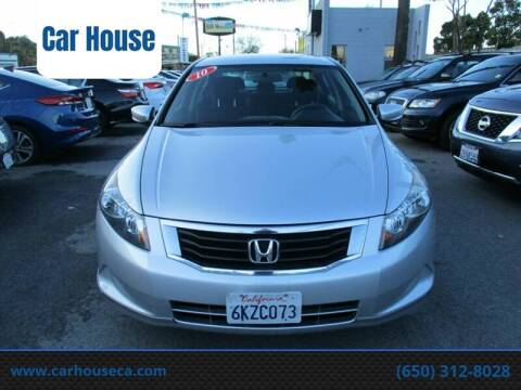 2010 Honda Accord for sale at Car House in San Mateo CA