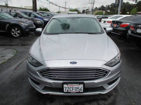 2017 Ford Fusion Hybrid for sale at Car House in San Mateo CA