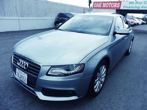2011 Audi A4 for sale in San Mateo, CA