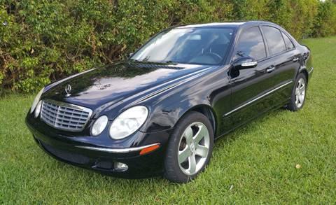 2006 Mercedes-Benz E-Class for sale in Miami, FL