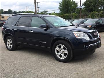 2008 GMC Acadia for sale in Hasbrouck Heights, NJ