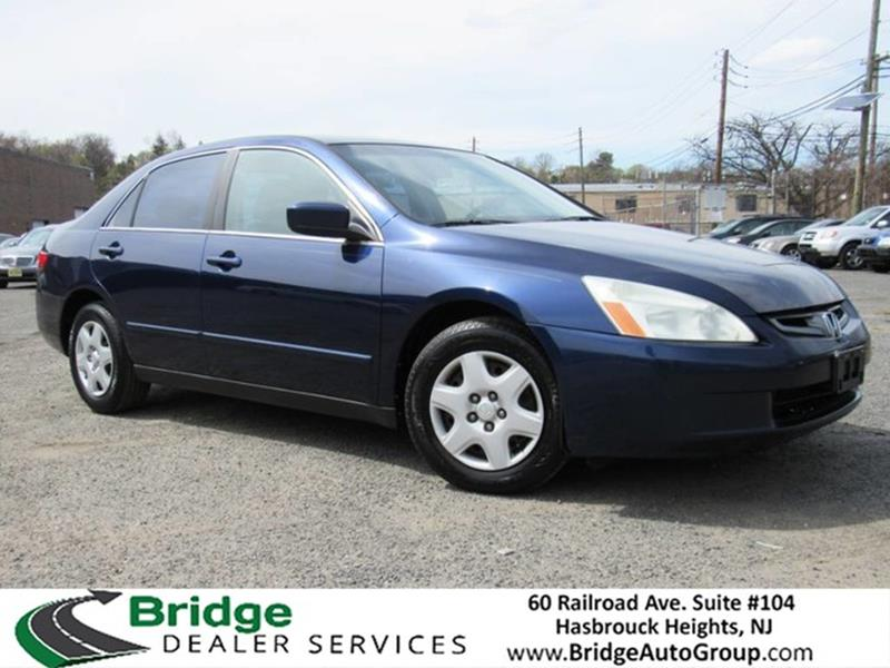 2005 Honda Accord For Sale At Bridge Dealer Services In Hasbrouck Heights NJ