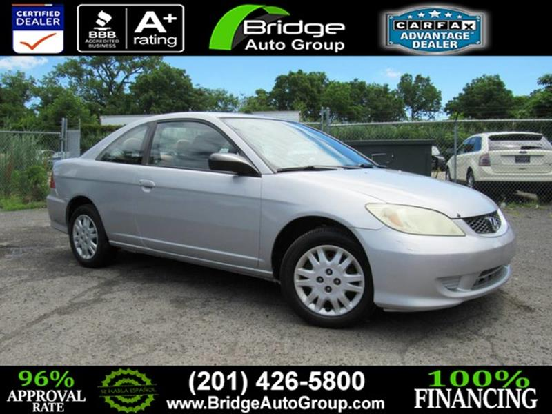 Lovely 2004 Honda Civic For Sale At Bridge Dealer Services In Hasbrouck Heights NJ