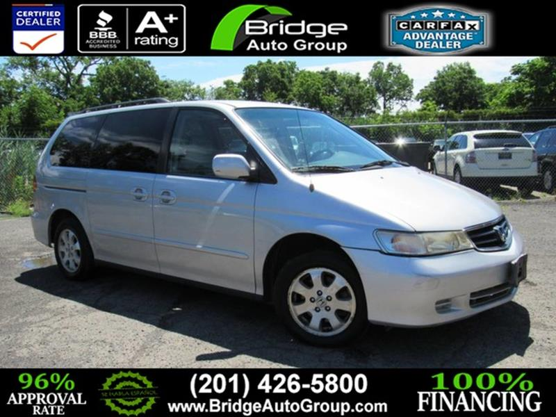 2003 Honda Odyssey For Sale At Bridge Dealer Services In Hasbrouck Heights  NJ