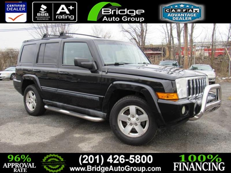 2007 Jeep Commander For Sale At Bridge Dealer Services In Hasbrouck Heights  NJ