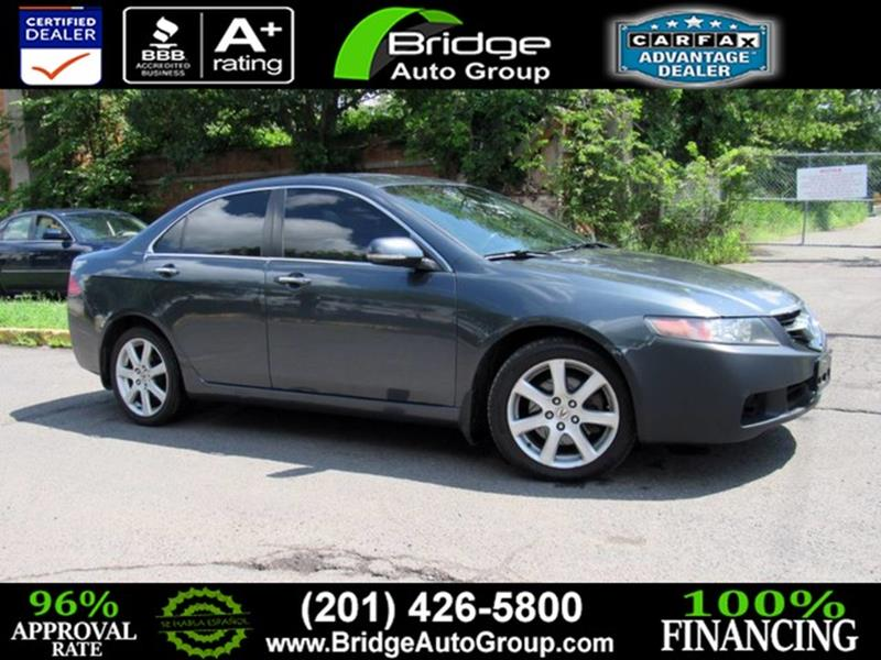 Acura TSX In Hasbrouck Heights NJ Bridge Dealer Services - Acura 2005 tsx for sale