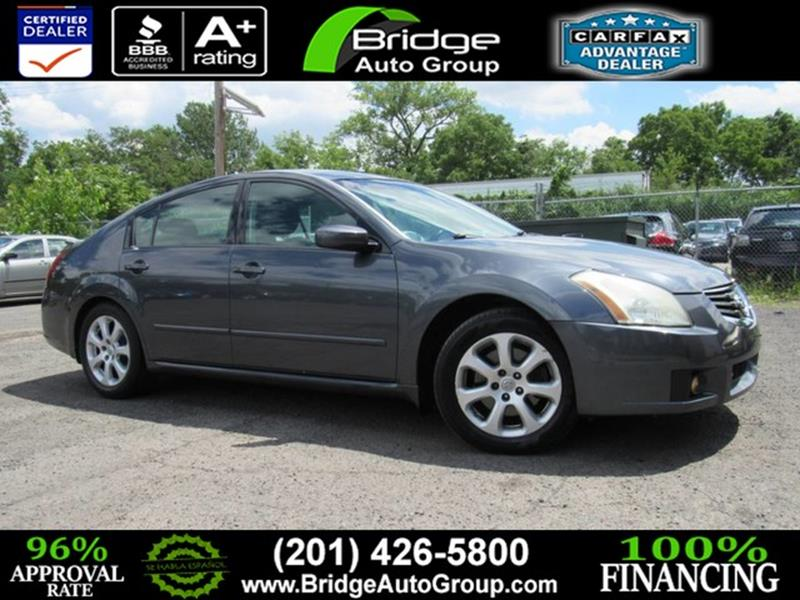 2007 Nissan Maxima For Sale At Bridge Dealer Services In Hasbrouck Heights  NJ