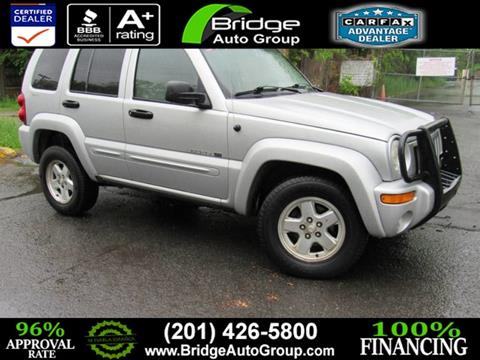 2002 Jeep Liberty for sale in Hasbrouck Heights, NJ