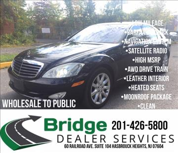 2007 Mercedes-Benz S-Class for sale in Hasbrouck Heights, NJ