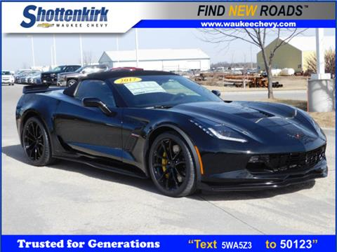 2017 Chevrolet Corvette for sale in Waukee, IA