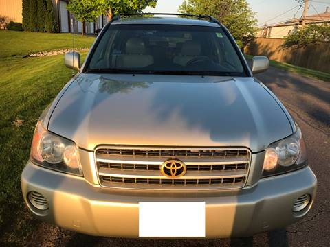 2002 Toyota Highlander for sale at Luxury Cars Xchange in Lockport IL