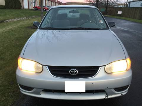 2002 Toyota Corolla for sale at Luxury Cars Xchange in Lockport IL