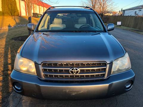2003 Toyota Highlander for sale at Luxury Cars Xchange in Lockport IL