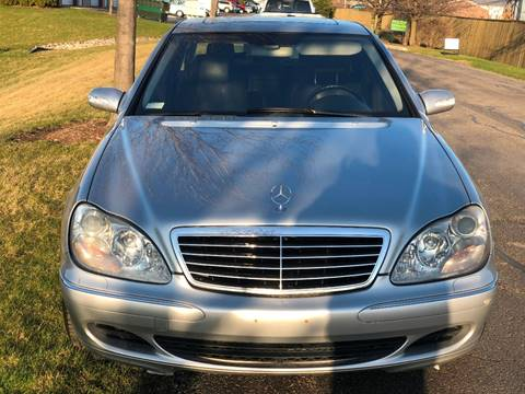 2003 Mercedes-Benz S-Class for sale at Luxury Cars Xchange in Lockport IL