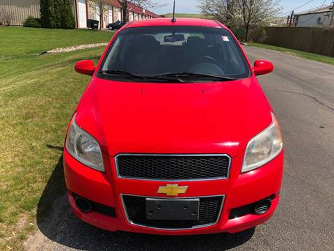 2009 Chevrolet Aveo for sale at Luxury Cars Xchange in Lockport IL