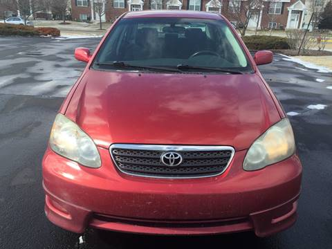 2005 Toyota Corolla for sale at Luxury Cars Xchange in Lockport IL