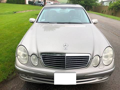 2003 Mercedes-Benz E-Class for sale at Luxury Cars Xchange in Lockport IL
