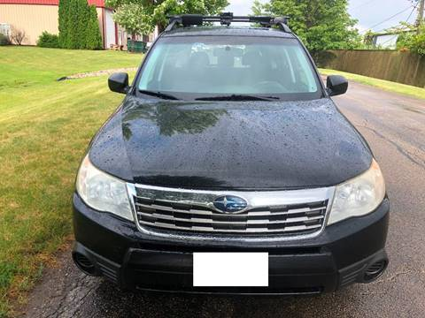 2009 Subaru Forester for sale at Luxury Cars Xchange in Lockport IL