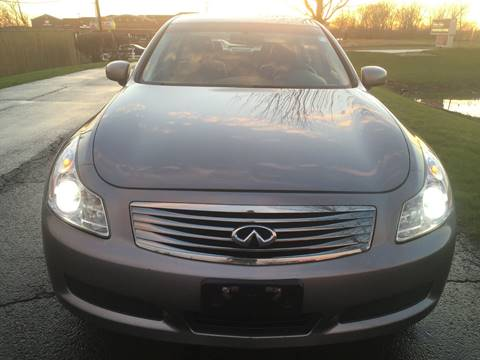 2007 Infiniti G35 for sale at Luxury Cars Xchange in Lockport IL