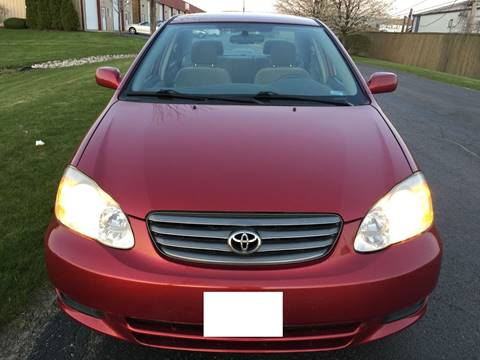 2004 Toyota Corolla for sale at Luxury Cars Xchange in Lockport IL