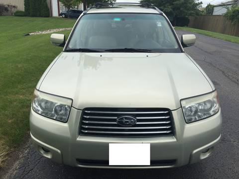 2007 Subaru Forester for sale at Luxury Cars Xchange in Lockport IL