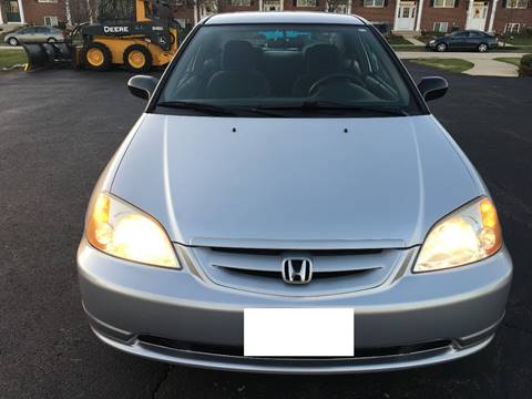 2002 Honda Civic for sale at Luxury Cars Xchange in Lockport IL