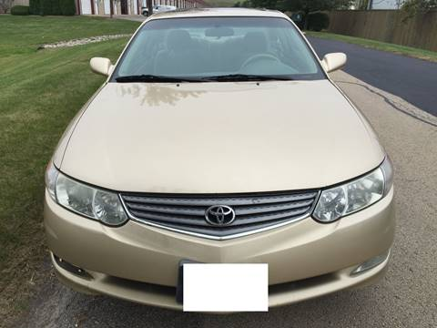 2002 Toyota Camry Solara for sale at Luxury Cars Xchange in Lockport IL