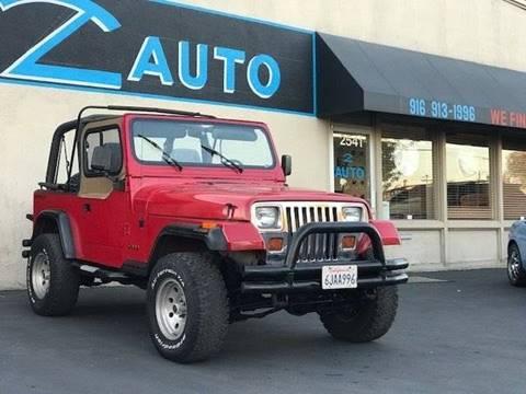 1993 Jeep Wrangler for sale in Sacramento, CA