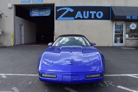 1994 Chevrolet Corvette for sale at Z Auto in Sacramento CA