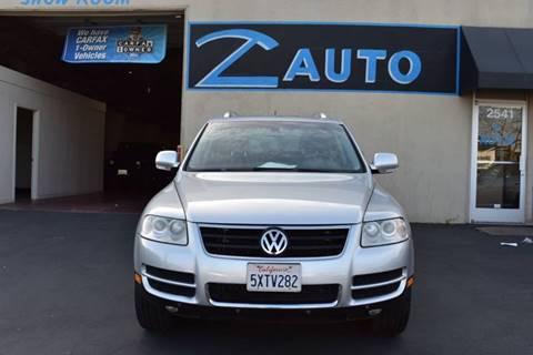 2007 Volkswagen Touareg V8 for sale at Z Auto in Sacramento CA