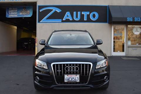 2012 Audi Q5 3.2 quattro Premium Plus for sale at Z Auto in Sacramento CA