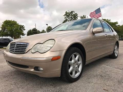 2002 Mercedes-Benz C-Class for sale at Cars 4 You in Hollywood FL