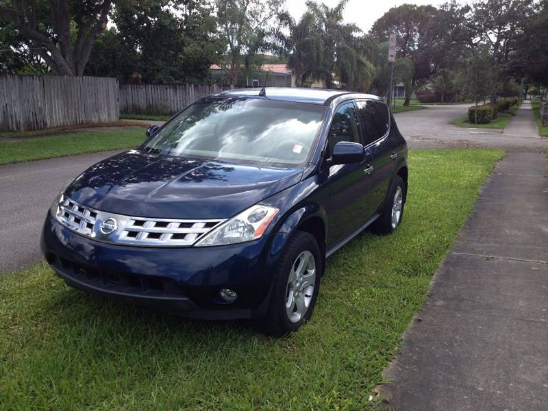 Nissan Murano For Sale >> 2005 Nissan Murano Sl In Hollywood Fl Cars 4 You