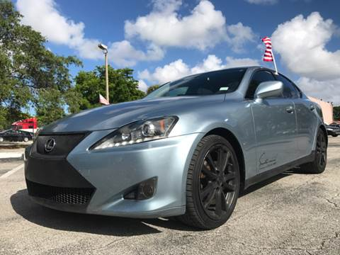 2008 Lexus IS 250 for sale in Hollywood, FL