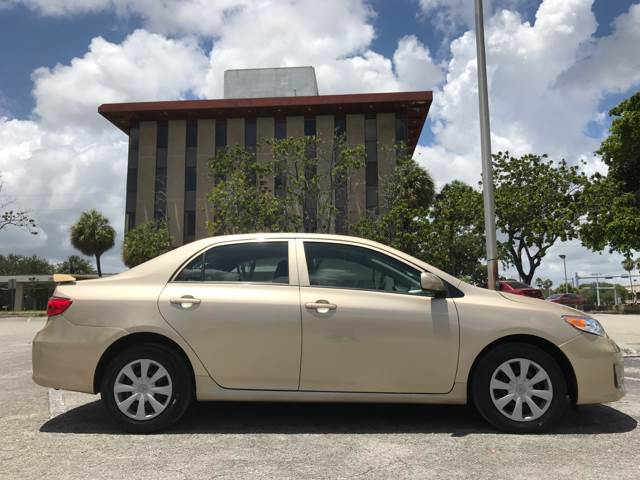 2013 Toyota Corolla for sale at Cars 4 You in Hollywood FL