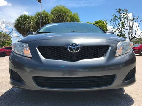 2010 Toyota Corolla for sale at Cars 4 You in Hollywood FL