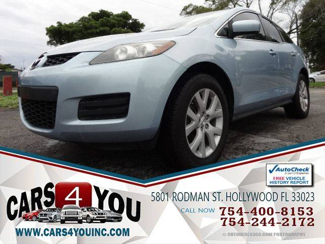 2007 Mazda CX 7 For Sale At Cars 4 You In Hollywood FL