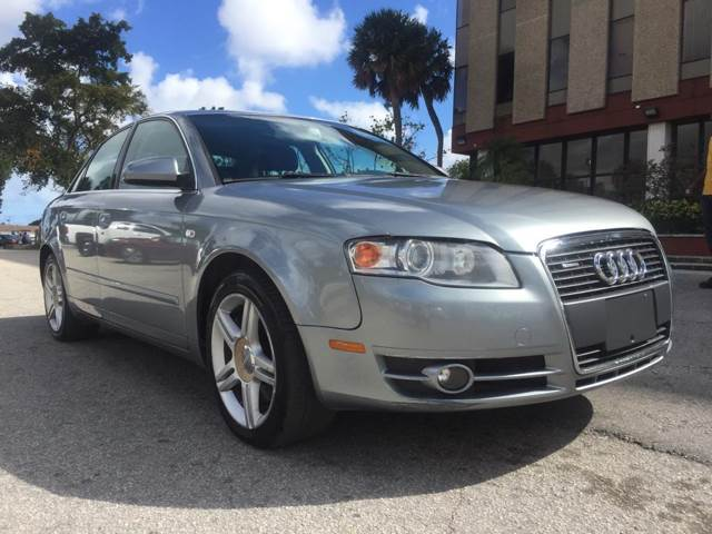 Audi A4 2.0 T >> 2006 Audi A4 2 0t Quattro In Hollywood Fl Cars 4 You